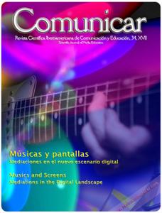Revista Comunicar 34: Músicas y pantallas