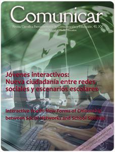 Revista Comunicar 40: Jóvenes interactivos