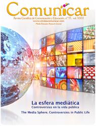 Revista Comunicar 55: La esfera mediática. Controversias en la vida pública
