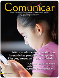 Comunicar 64: Children, youth and media in the era of smart devices: Risks, threats and opportunities