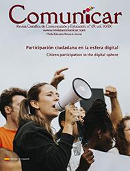 Revista Comunicar 69: Participación ciudadana en la esfera digital