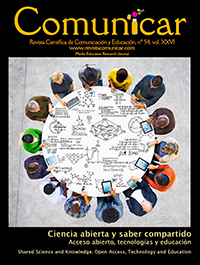 Comunicar 54: Shared Science and Knowledge. Open Access, Technology and Education