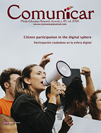 Comunicar 69: Citizen participation in the digital sphere